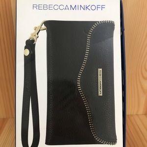 Rebecca Minkoff iPhone 7/8 wallet wristlet